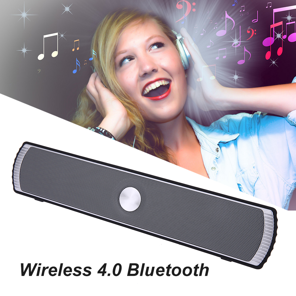 USB Outdoor Wireless Bluetooth Stereo Speaker Subwoofer With TF Card Radio Hands-free Call Portable Bluetooth Speanker