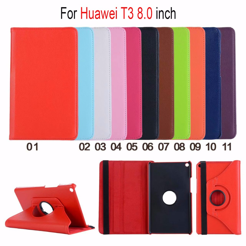 360 Rotating Case For Huawei Mediapad T3 8.0