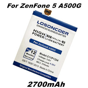 LOSONCOER 2700 mAh C11P1324 Battery Use for ASUS ZenFone 5 Battery A500G Z5 A500