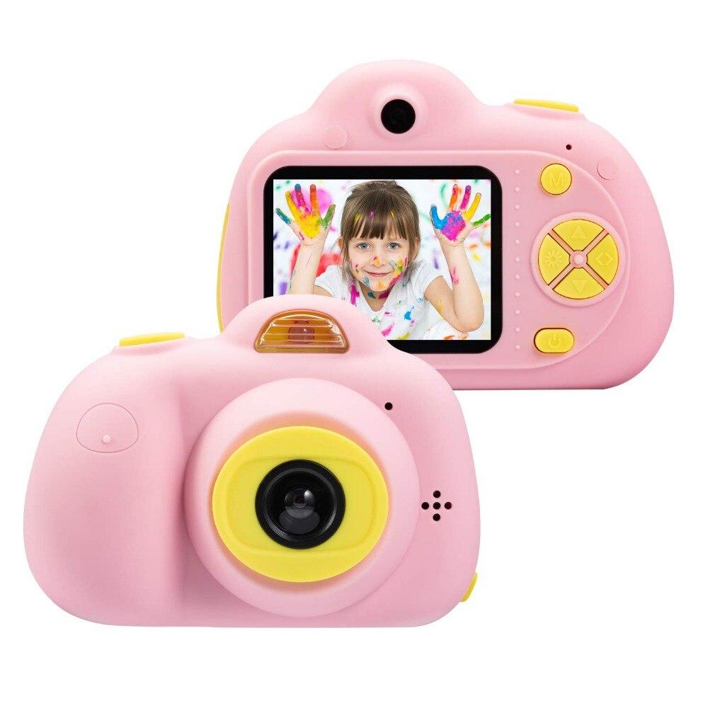 Mini appareil Photo jouet appareil Photo numérique enfants jouets éducatifs photographie cadeaux enfant en bas âge jouet 8MP hd jouet appareil Photo comprend 16G carte