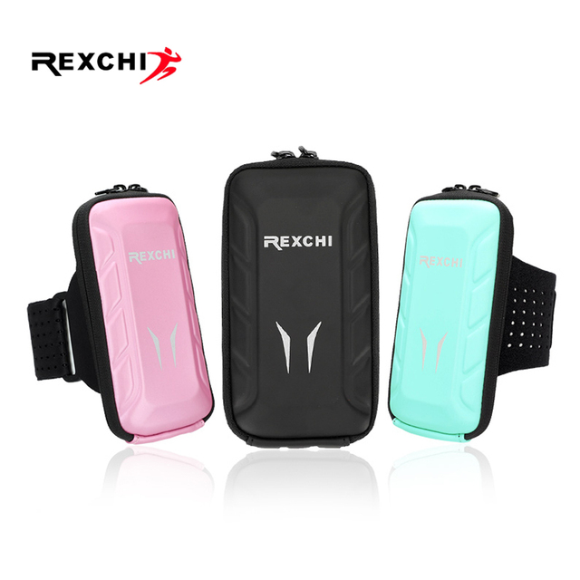 REXCHI Outdoor Trail Running Arm Bag Ultralight Waterproof Gear Women Sport Accessories Mobile Phone Holder Lady Fitness Wallet 2