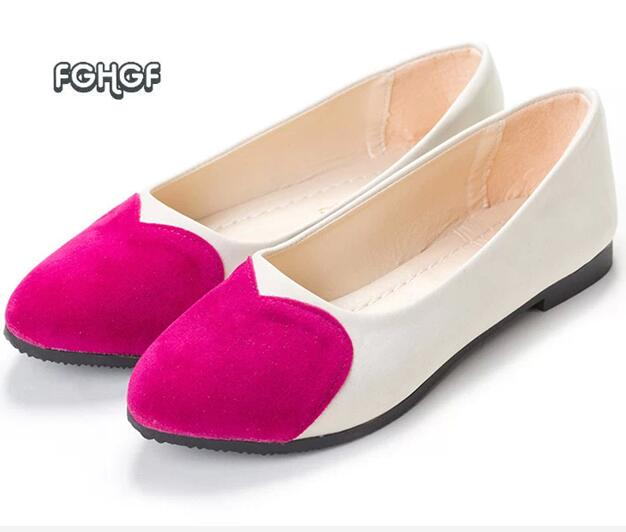 Women Heart Casual Shoes ballerine Femme female Slipony Loafers shoe Ballet Flats Shoes Moccasins Zapatos Mujer Chaussures tufli new brand 2016 designer shoes woman flats summer ballerina shoe for women ballets flats loafers femme chaussures