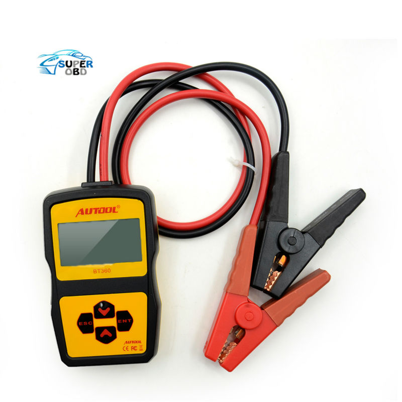 Autool Bt360 12v Digital Car Battery Tester For Flooded Agm Gel Bt-360 12 Volt Automotive Battery Analyzer Cca Multi-language Back To Search Resultsautomobiles & Motorcycles Battery Measurement Units