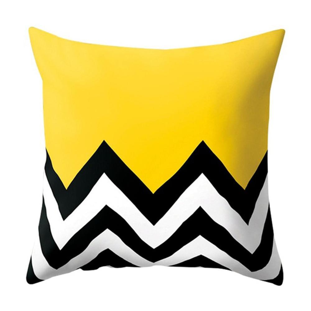 HTB14OruXvWG3KVjSZFgq6zTspXac Polyester Geometric Cushion Yellow Pineapple Pillow Decorative Cushion for Sofa DIY Printed Pillow Seat Chair Cushion