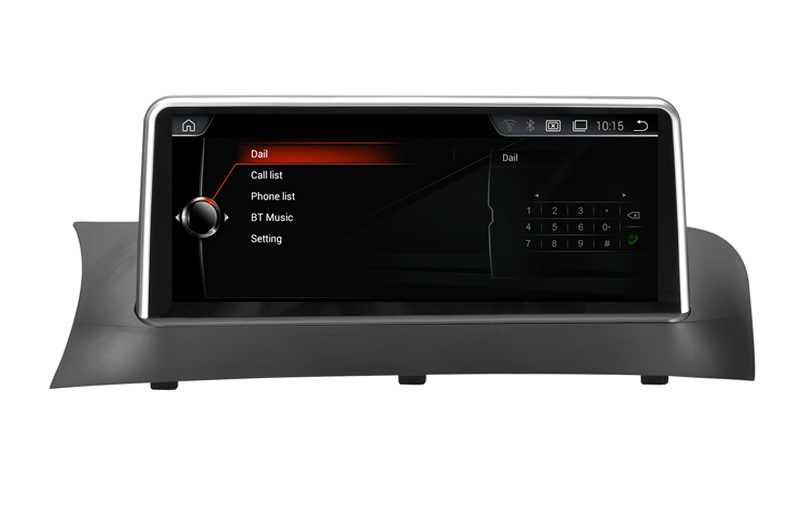 """10.25 """"z systemem Android 8.1 dla BMWBMW X3 F25/X4 F26 oryginalny CIC/NBT system samochodowy audio GPS stereo ekran monitora wszystko w jednym"""