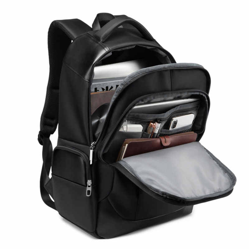 Scione классический походный рюкзак для ноутбука зарядка через usb износостойкий водонепроницаемый рюкзак для мужчин и женщин Деловые Офисные сумки на плечо