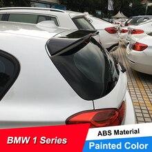 JNCFORURC Rear Trunk Lid Car Spoiler Wings For BMW 1 Series Hatchback F20 116 118 125 135 ABS Roof