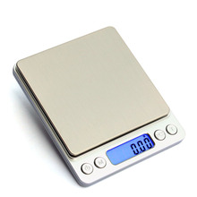 3000g/0.1g kitchen scales digital LCD Mini Digital Stainless steel precision kitchen weighing tool