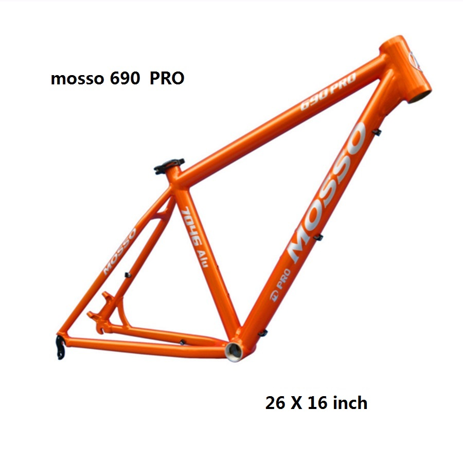 4c1b3dae570 MOSSO 690 PROMTB bike frame aluminum alloy 1280 g 26X15 16 17 18 inch  bicycle accessories MTB frame