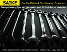 Ratcheting Combination Wrench  Set Hand Tools for Car Repair Torque and gear spanner and A Set of Key
