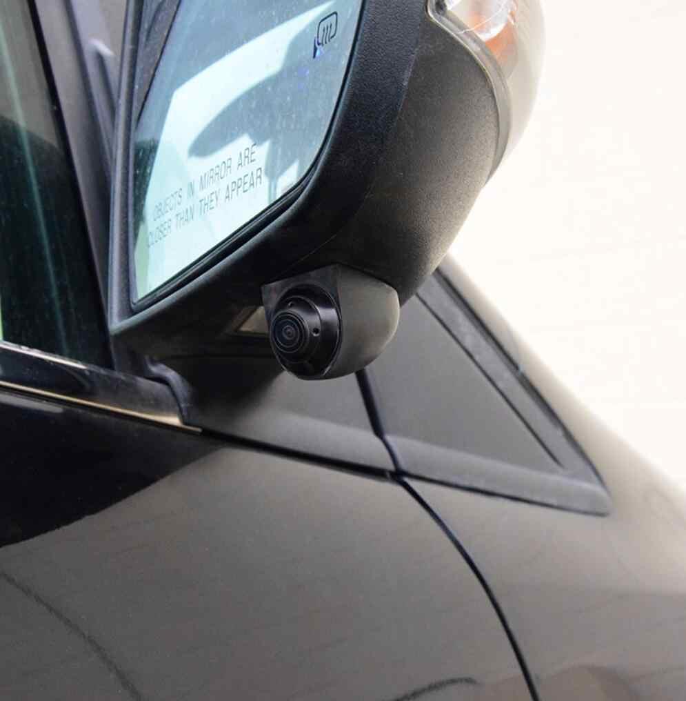 U ボートミニ亜鉛味方ハウジング超軽量車のミラーカメラミニ隠し最高ブラインドスポット支援車両駐車カメラ
