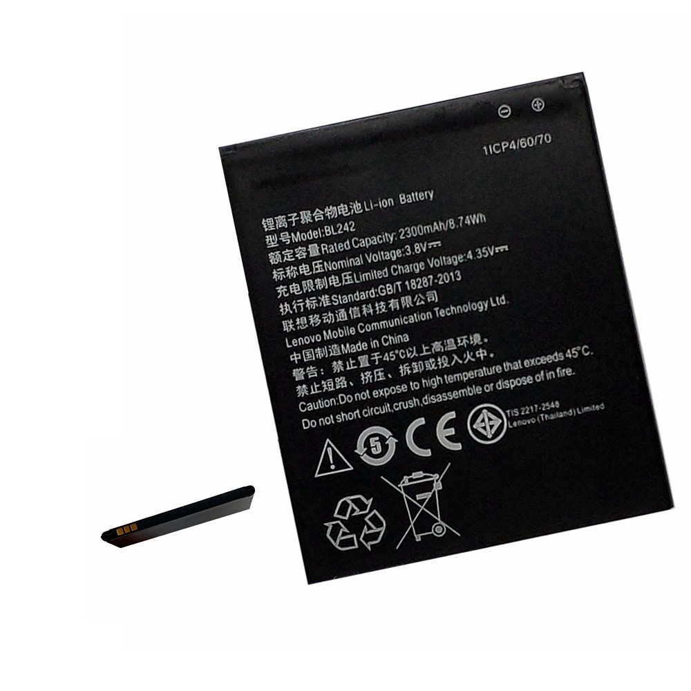 <font><b>Battery</b></font> For <font><b>Lenovo</b></font> A6000 A3860 A3580 A3900 LeMeng k31-t3 K30-T/W <font><b>A6010</b></font> Plus Real Capacity Replacement Bateria Accumulator image