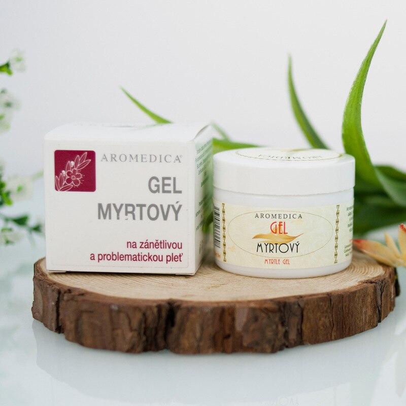 Myrtle convergence gel 50g oil control essence pox print repair uneven skin color uneven цена 2017