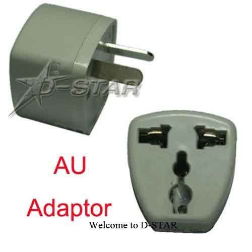 Free Shipping (via DHL) 240pcs universal US/UK/US TO AU travel power outlet AC plug adapter converter