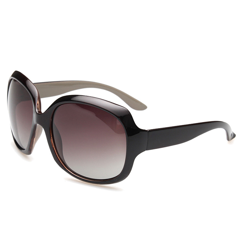 2015 moda para mujer gafas de sol lentes polarizadas gruesa marcos ...