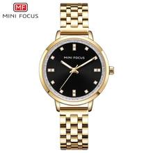 Женские Водонепроницаемые часы MINI FOCUS, роскошные модные повседневные кварцевые наручные часы для женщин