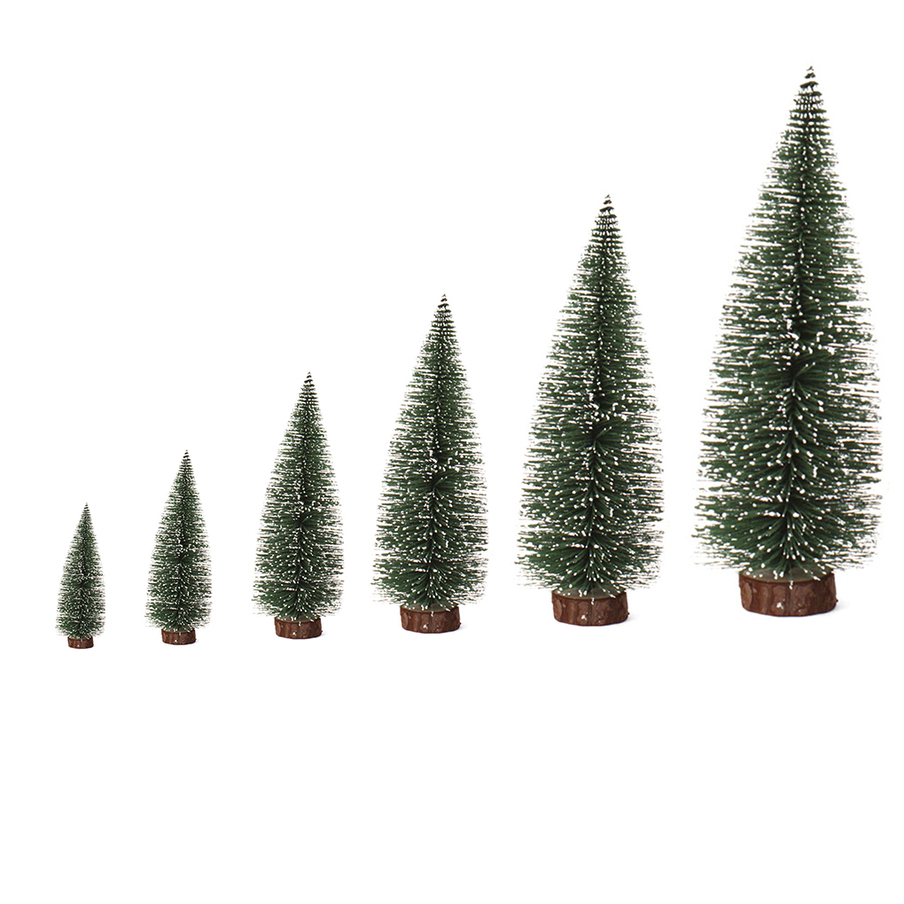 Miniature Artificial Christmas Trees: Hot Artificial Tabletop Mini Pine Christmas Trees