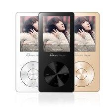 Metal 8 GB Música Sin Pérdidas de ALTA FIDELIDAD Calidad de Sonido Reproductor de MP3 de Audio y Vídeo HIFI Jugador con FM Radio Despertador de la Ayuda 64 gb TF Tarjeta de