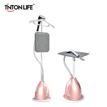 TINTON LIFE паровой утюг вертикальный отпариватель с регулируемой трубой и вешалкой 11 режимов для разных материалов одежды