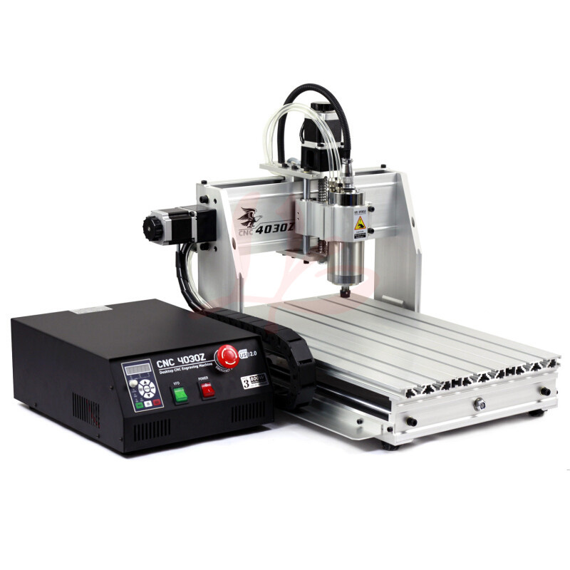 Desktop Mini CNC router 3040 800W Water cooling spindle motor with USB connection for wood and metal wood lathe скатерть les gobelins coeurs espagnol круглая диаметр 160 см