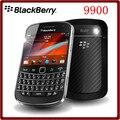 9900 Оригинальный Разблокирована Blackberry 9900 WCDMA 3 Г QWERTY Клавиатура 8 ГБ ROM 5MP Bluetooth WI-FI Восстановленное Смартфон Бесплатная Доставка