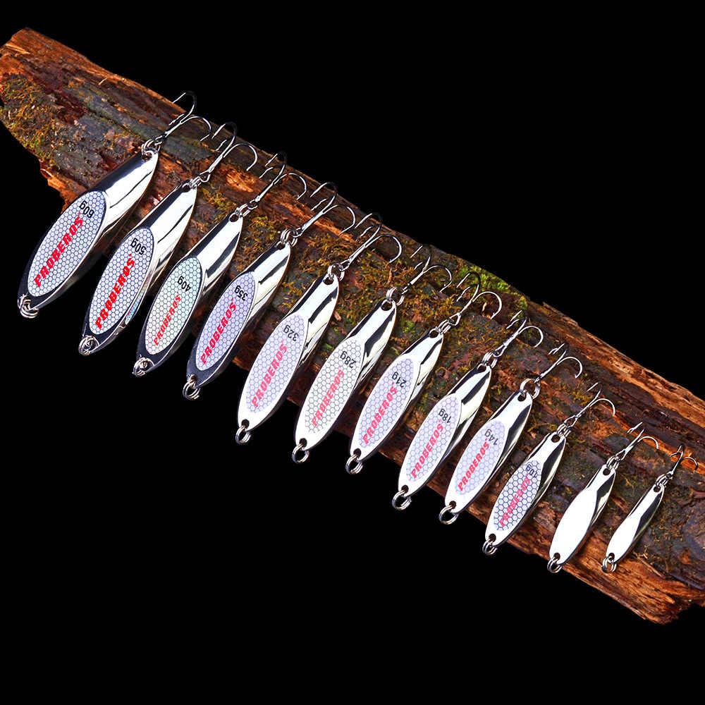 3-60g เงินโลหะใหม่ MINI VIB ช้อนตกปลาเหยื่อ Crankbait การสั่นสะเทือน SPINNER เหยื่อตกปลาน้ำแข็ง