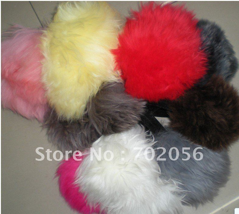 WOOL Earmuffs Ear Warmer Mixed Color 6pcs/lot #2327