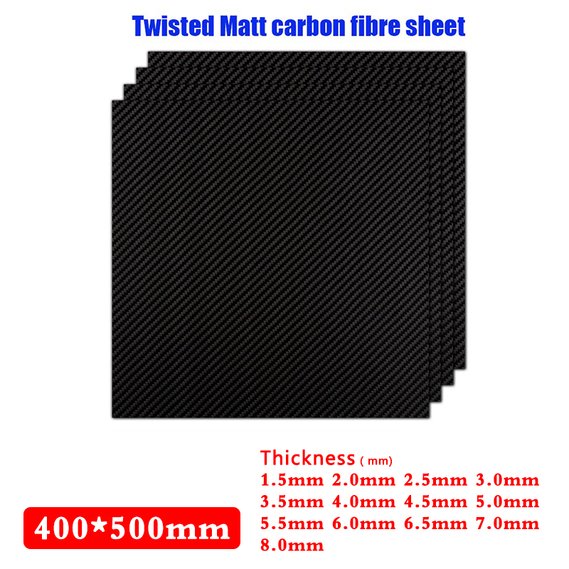 Twisted Bright 400*500mm Real Carbon Fiber Plate Panel Sheets1.5mm-8.0mm Processing High Strength of Carbon Fiber BoardTwisted Bright 400*500mm Real Carbon Fiber Plate Panel Sheets1.5mm-8.0mm Processing High Strength of Carbon Fiber Board