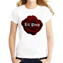 Personalized T Shirts Red Rose O-Neck Short Sleeve Christmas Shirt For Women