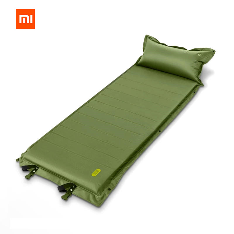 Original Xiaomi mijia zaofeng Camping en plein Air auto gonflable matelas d'air automatique étanche à l'humidité coussin-in Télécommande connectée from Electronique    1
