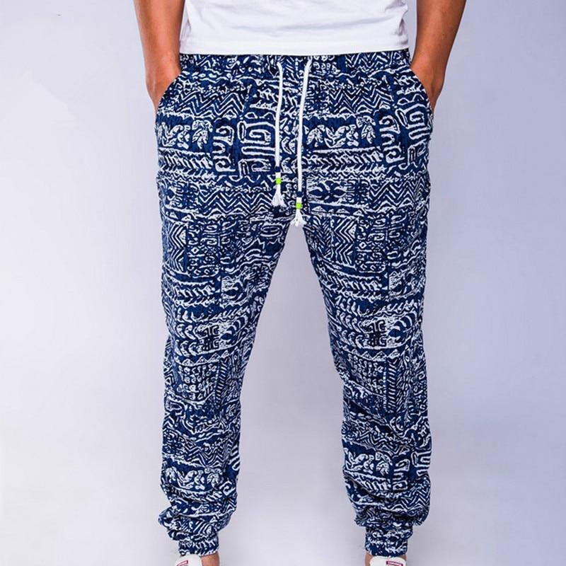 Men's linen casual pants