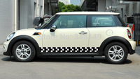 Aliauto Car styling Car Side Door Sticker And Decals Accessories For Mini Cooper Countryman R50 R52 R53 R58 R56