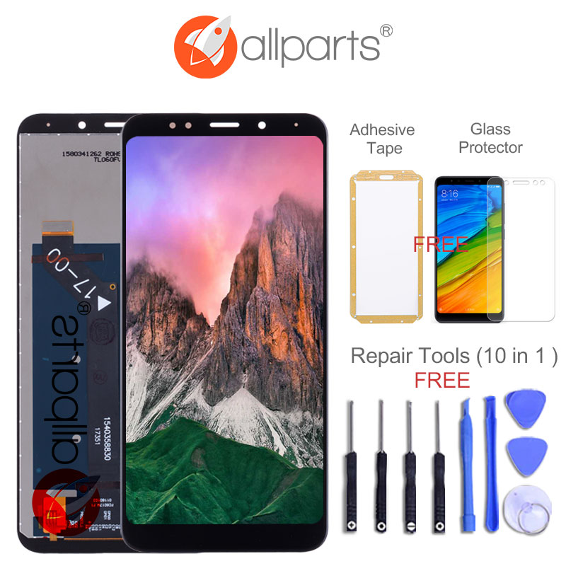 Global Snapdragon 625 Version 5.99 IPS Display for XIAOMI Redmi 5 Plus LCD Replace Redmi Note 5 Display Touch Screen with Frame