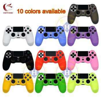 HOTHINK Protective Silicone Case Skin cover Soft case for Playstation 4 Slim PS4 Pro Controller dualshock 4 gamepad cool camouflage soft silicone cover case protection skin for sony playstation 4 ps4 for dualshock 4 controller console decals