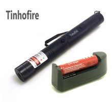 Tinhofire Laser 308 pen 2 in 1 two-color Green and Red star 200mw laser pointer+3000mah 18650 battery + Charger