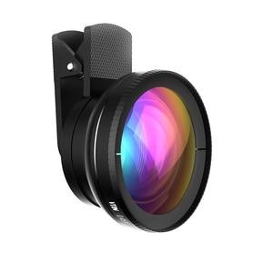 Image 3 - חדש! VTIN אוניברסלי מקצועי HD טלפון מצלמה עדשת ערכת 0.45x סופר רחב זווית עדשה + 10x סופר מאקרו עדשה + 37mm חוט קליפ