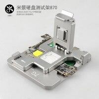 Новости HDD жесткий диск Тесты Ремонт Стенд для iphone 5G 5S 5C 6 г 6 p SE 6s 6s p 7 плюс 7 P флеш памяти NAND материнской приспособление инструмент