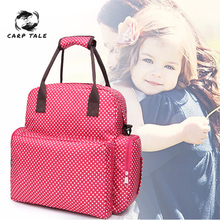 цена на Nappy Backpack Bag Mummy Large Capacity Bag Mom Baby Multi-function Waterproof Outdoor Travel Diaper Bags For Baby Care
