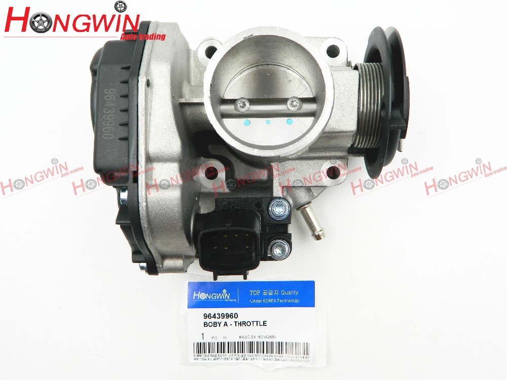 Genuine No. 96439960 Throttle Body Assy Fits Deawoo Fits Chevrolet Matiz Spark M200 1.0 96611290 , 96394330