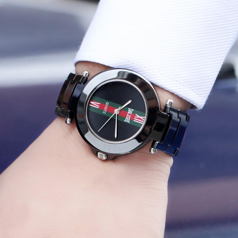 DALISHI Luxury Brand Ceramic Mens Watch Fashion Male Business Quartz Watches Fashion Casual Male Dress Clock Zegarki Damskie