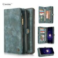 Original Caseme Luxury Genuine Leather Case for Samsung S8 Plus Case Wallet Flip Phone Bag Cases Leather Coque for s8 plus Cover