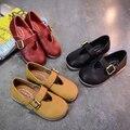 Primavera/Outono Flats Sapatos De Couro Mocassins Respirável das Crianças Meninas Princesa sapatos Únicos sapatos de Bebê Crianças Sapatilhas Ocasionais 04