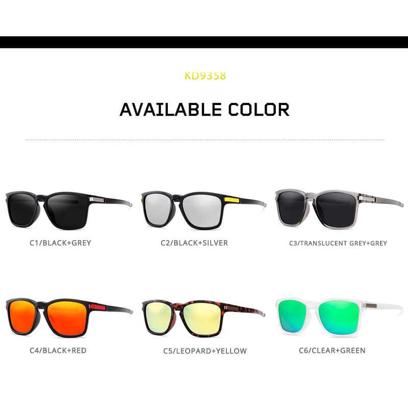 83a1b3b180d ... KDEAM Sport Style Polarized Sunglasses Men Women HD Driving Sun Glasses  Ultralight Frame UV400 Goggles Male