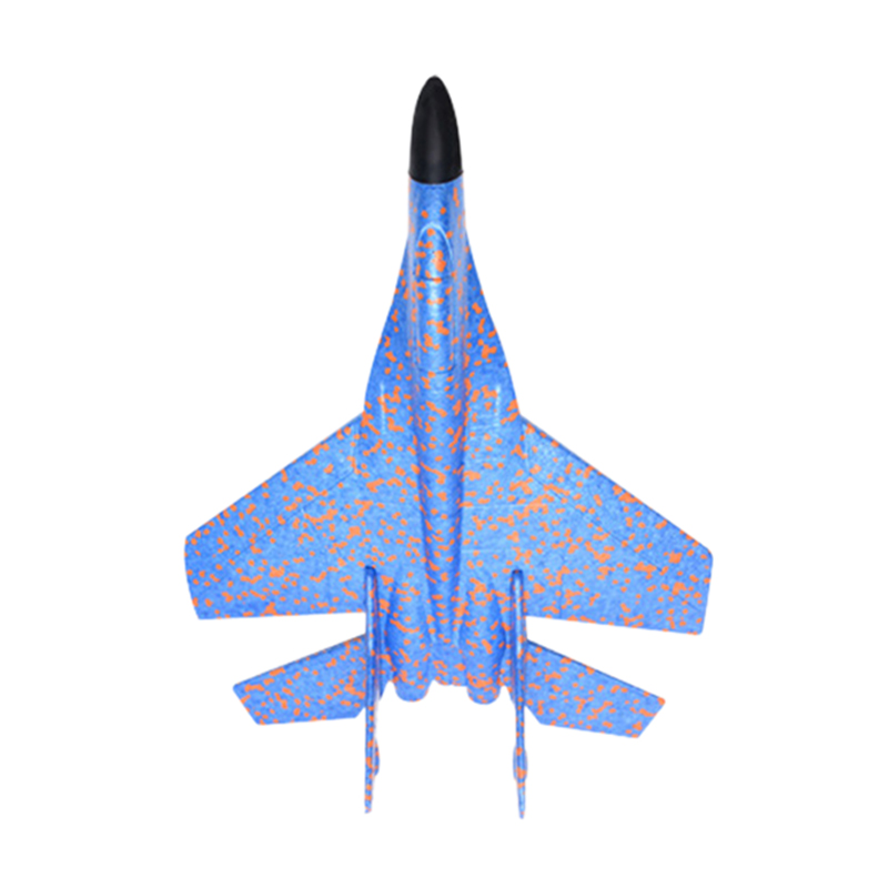42cm Kids Toys Hand Throwing Model Airplane Foam Aircraft Stunt Luminous Education Epp Glider Fighter Planes Toys For Children(China)
