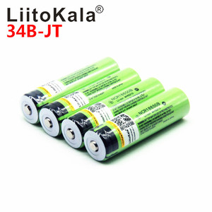 Image 5 - NEW LiitoKala lii 500S 3.7V 18650 26650 charger+ 4pcs 3.7V 18650 3400mAh INR18650B Rechargeable Battery For Flashlight batteries