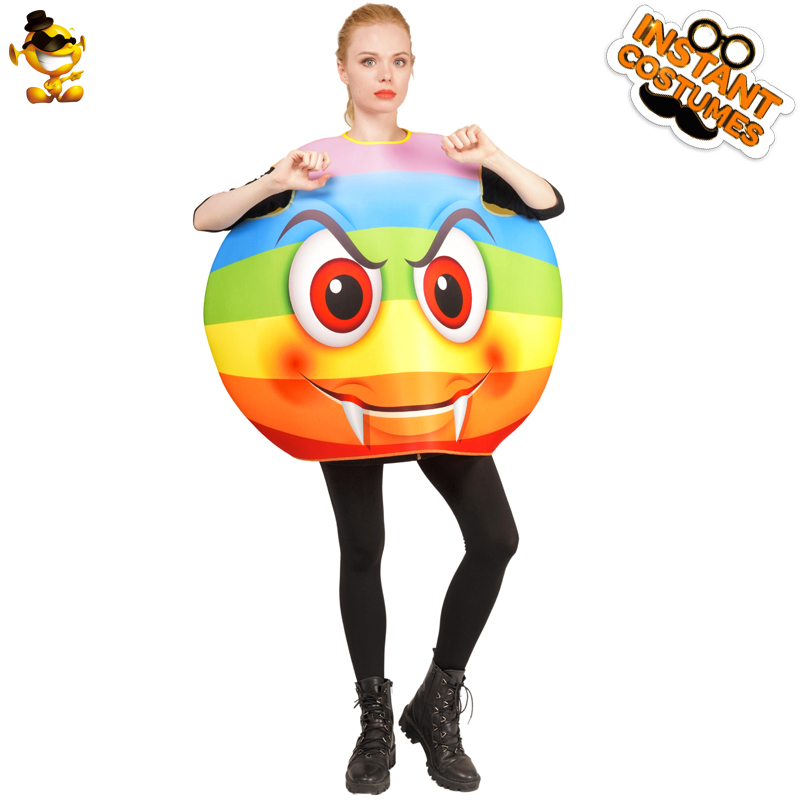 Women/'s Poop Emoji Costume Adult Cute Poop Emoticon For Carnival Party Costume