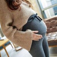 Maternity Clothing Plus Velvet High Waist Pant Maternity Skinny Pregnancy Pants For Pregnant Women Pregnancy Mom Clothes Winter