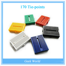 170 Tie-points Mini Solderless Prototype Breadboard for ATMEGA PIC Arduino UNO