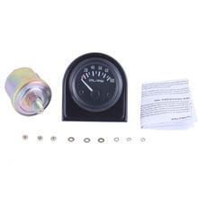 1 Pcs Auto Moto Huile Pression Bleu LED 0-100PSI Mesure gamme Jauge Indicateur Jauge Compteur Numérique indicateur D'huile Instrument 2in 52mm
