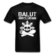 Easter Balut Club Sull Punk T Shirts Death Skull Printed On Tshirts For Men Cotton Fabric Awesome Tee Shirt Mens Cool Tshirt